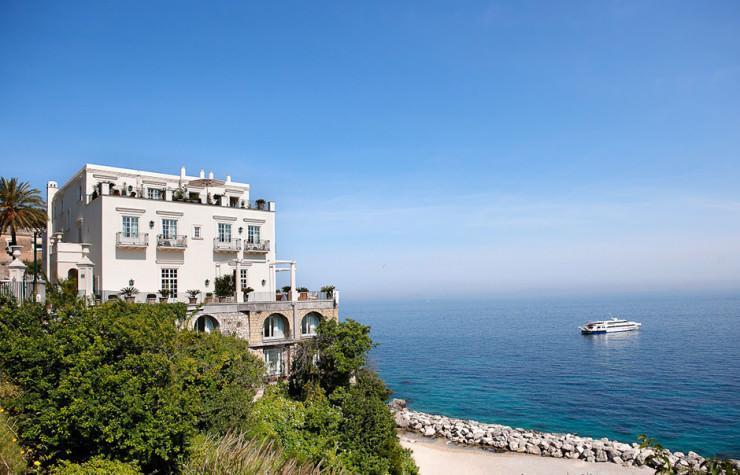 هتل لوکس در بهترین جزیره مدیترانه، ایتالیا