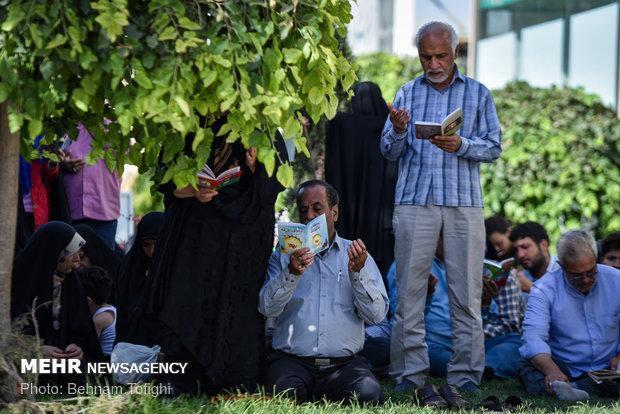 نوای العفو در روز عرفه، طنین دعای معنوی در آذربایجان شرقی