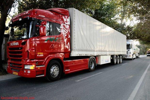 مشخص کرایه کامیون ها بر حسب تن کیلومتر در آستانه تصویب نهاده شد