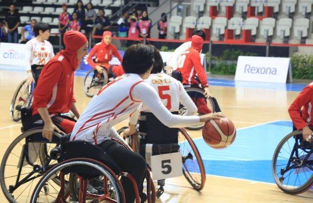 ملی پوش بسکتبال با ویلچر: چین بهترین تیم آسیاست