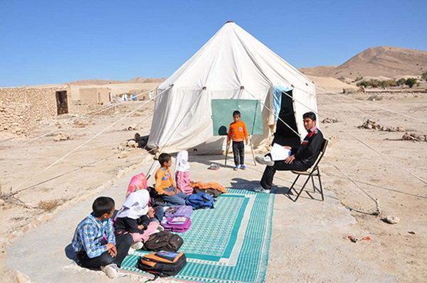 وجود 134 مدرسه چادری عشایری در خوزستان