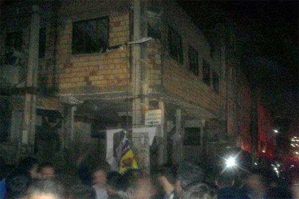 انفجار یک حسینیه در شهر صالحیه، 10 واحد مسکونی آسیب دید