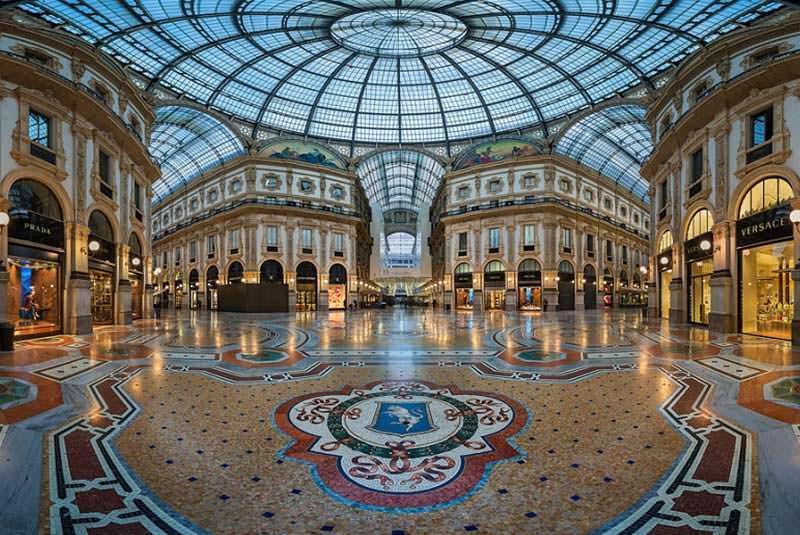 آشنایی با گالری ویتوریو امانوئل میلان ایتالیا