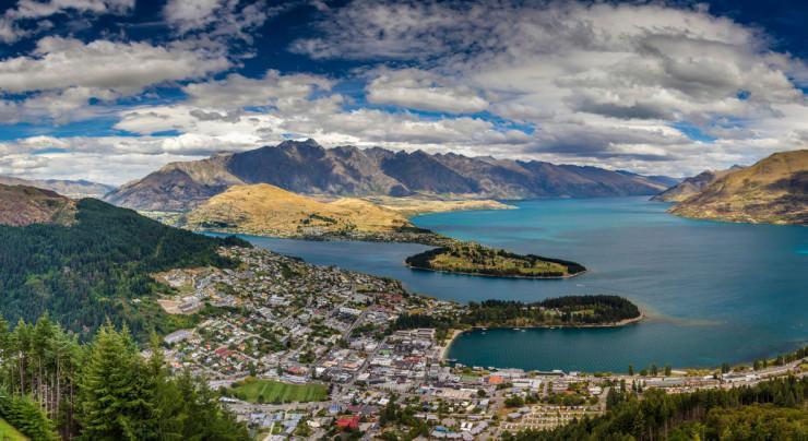 فعالیت های وسیع در Queenstown، نیوزیلند