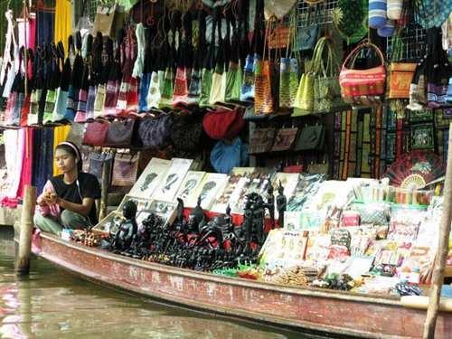 آشنایی با بازار شناور بانکوک