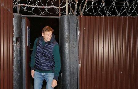 رهبر اپوزیسیون روسیه آزاد شد