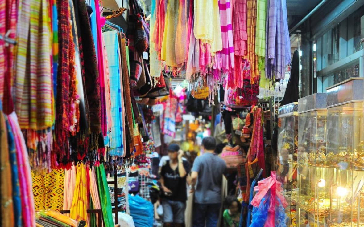 بازار شبانه پات پونگ