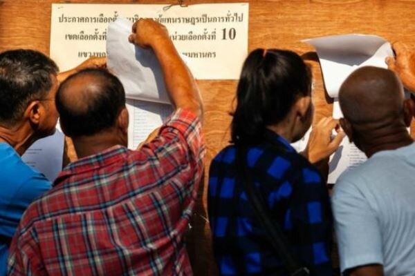 نخستین انتخابات پارلمانی تایلند بعد از کودتای 2014