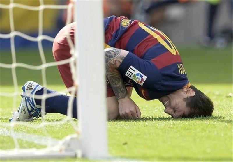 مسی بازی بارسلونا مقابل گوانگژو را از دست داد