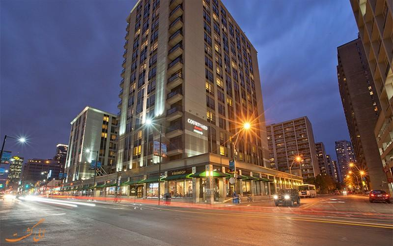 معرفی هتل کورتیارد دانتون تورنتو ، 3 ستاره