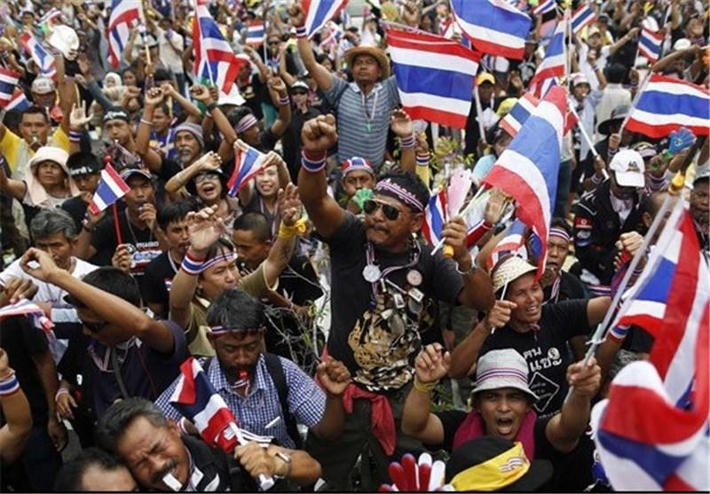 رهبر مخالفین تایلند: دموکراسی را جایگزین سرمایه داری می کنیم