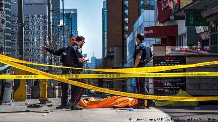 پلیس کانادا هویت عامل حمله به عابران پیاده را اظهار داشت