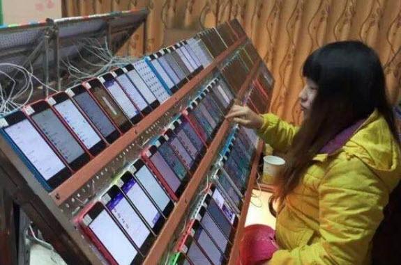 تصویر بسیار جالبی که نشان می دهد چینی ها چگونه رتبه بندی اپلیکیشن را در اپ استور اپل دستکاری می نمایند