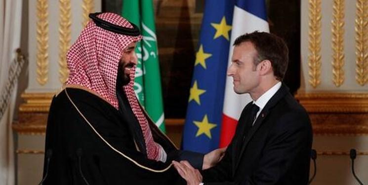 تماس تلفنی رئیس جمهور فرانسه با ولی عهد سعودی