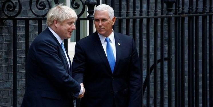 دیدار پنس با جانسون، آمریکا دنبال احیای تحریم های شورای امنیت علیه ایران