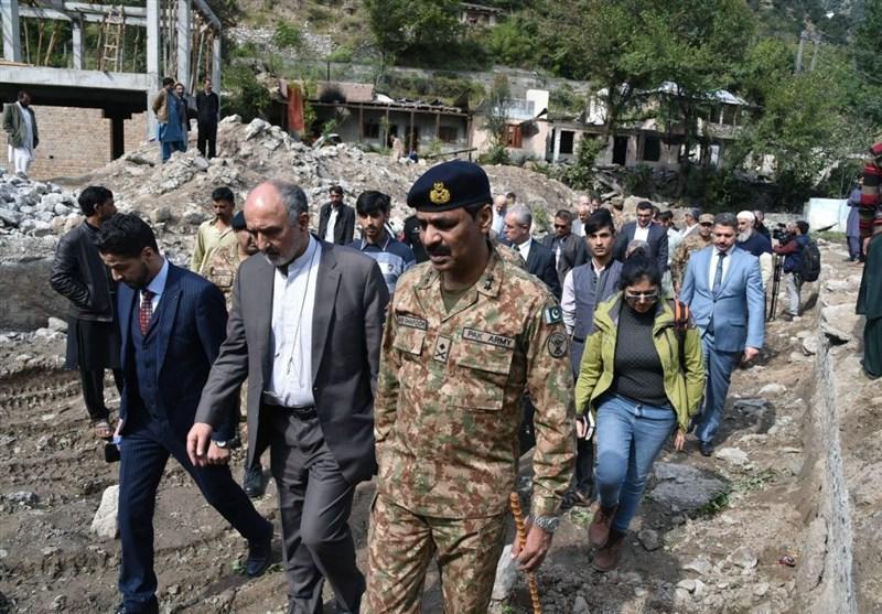 پاکستان تصاویر بازدید سفرای خارجی از مرز مشترک با هند را منتشر کرد