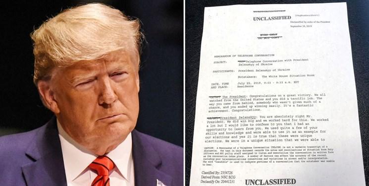 ترامپ در واکنش به خطر استیضاح پیام ویدئویی منتشر کرد