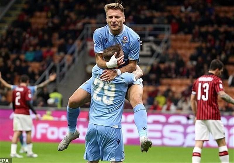 طلسم شکنی لاتزیو با پیروزی مقابل میلان