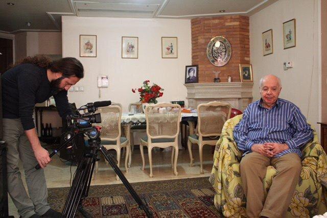 پرتره رضا قیصریه؛ در ستایش 77 سالگی به نمایش درآمد ، استادی که جایزه رئیس جمهور اسبق و وزارت میراث ایتالیا را گرفت