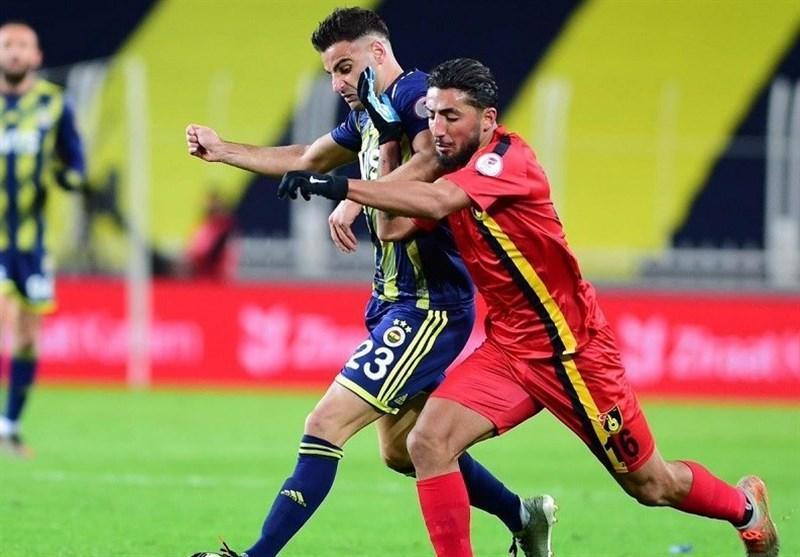 جام حذفی ترکیه، شکست استانبول اسپور برابر فنرباغچه در حضور صیادمنش