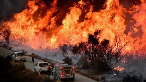 موج جدید آتش سوزی های کالیفرنیا هزاران نفر را آواره کرد