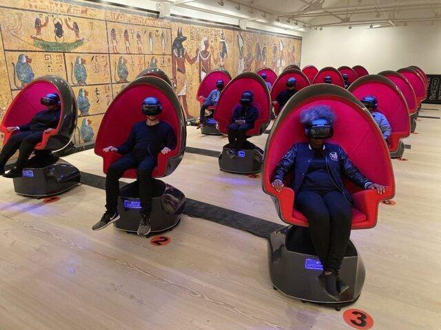 نمایشگاه لندن ، هشت دقیقه بازدید مجازی از مقبره توت عنخ آمون