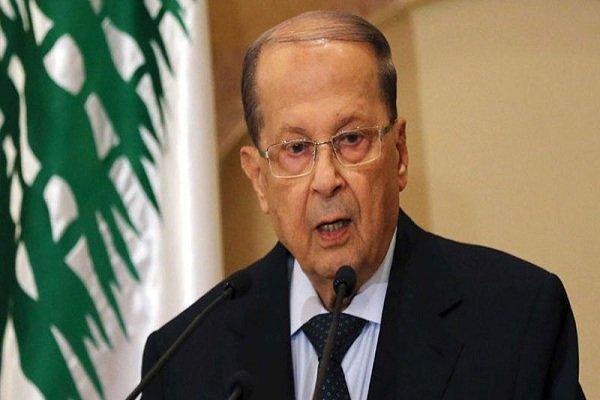 عون: مطالبات مردم لبنان از خواسته های مالی به سیاسی رسیده است