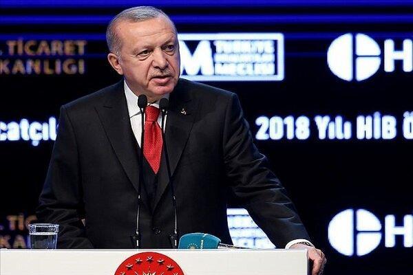 اردوغان: 250 هزار پناهجوی سوری به تازگی به ترکیه وارد شده اند