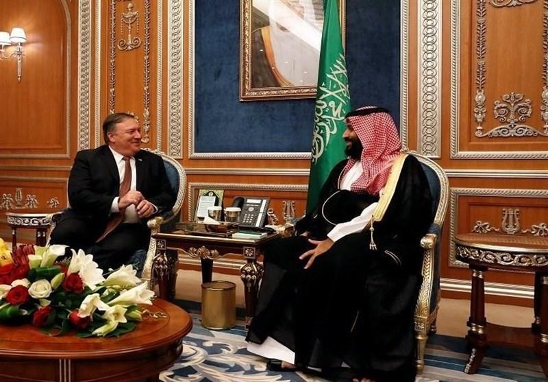 گفت وگوی تلفنی بن سلمان و پامپئو، موضع سعودی درباره تجاوز آمریکا به مواضع حشد شعبی