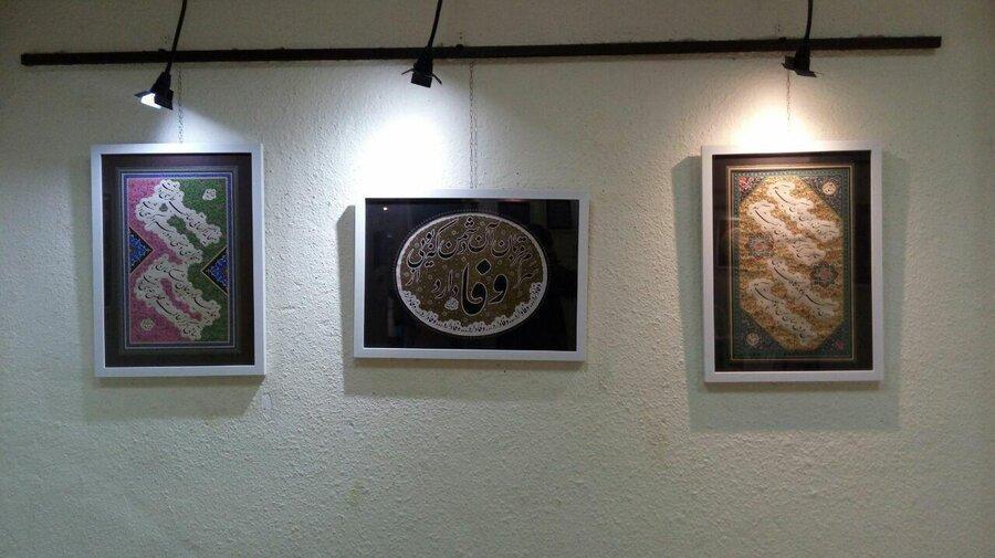 نمایشگاه خود آموخته در نگارخانه شیخ هادی