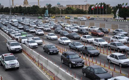 آخرین شرایط ترافیکی جاده های کشور، چهارشنبه سیزدهم فروردین