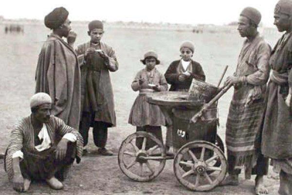 عکس ، بستنی نونی؛ یادگاری از 140 سال پیش!