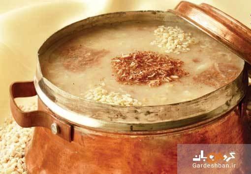 طرز تهیه حلیم گندم بدون گوشت برای افطار