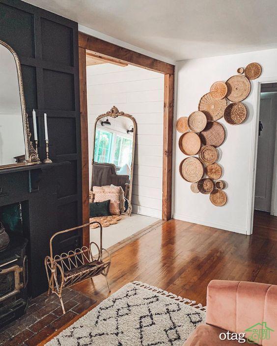 ایده های دکور دیوار برای بخش های مختلف خانه