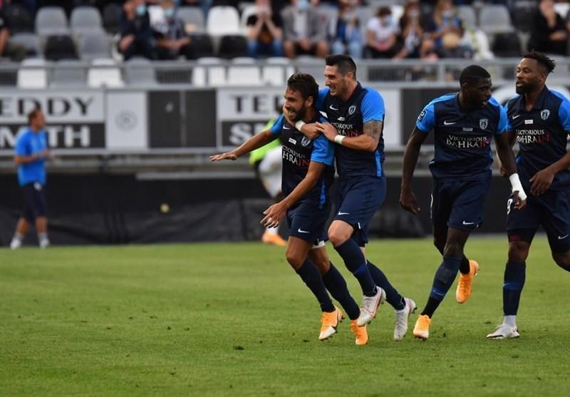 لیگ دسته دوم فرانسه، شکست خانگی آمیا در غیاب قدوس