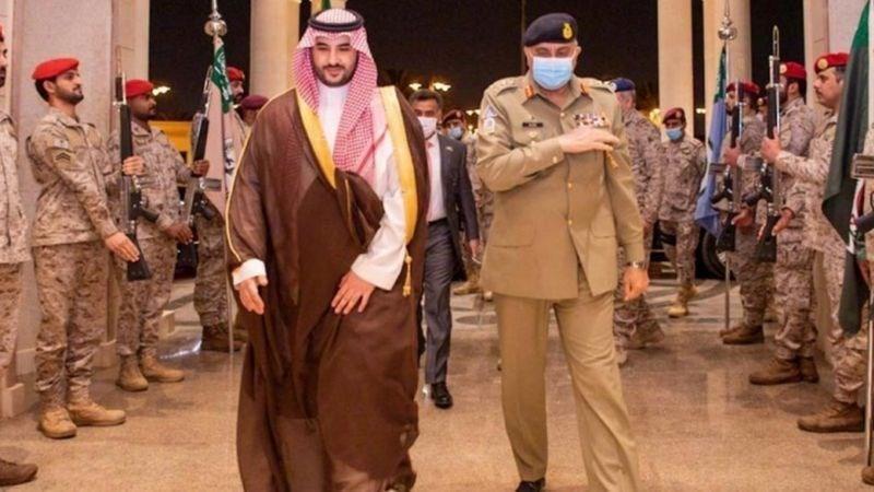 محمد بن سلمان از دیدار با رئیس ستاد مشترک ارتش پاکستان خودداری کرد
