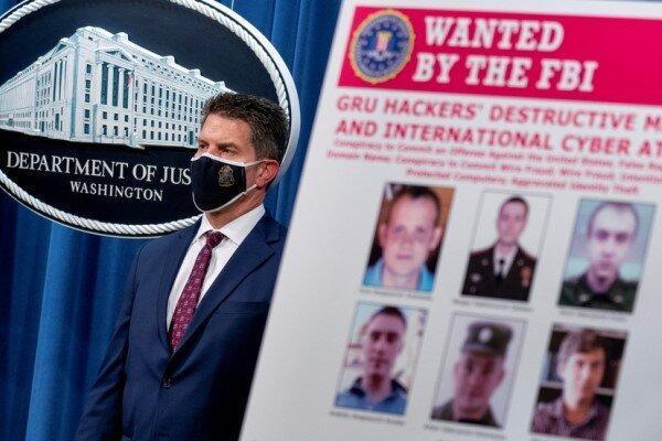 آمریکا 6 افسر اطلاعاتی روسیه را به حملات سایبری متهم کرد