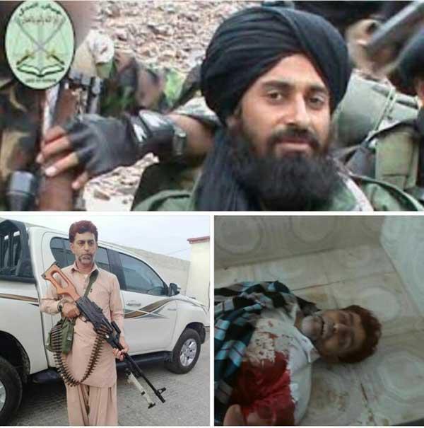 کشته شدن یکی از رهبران گروه جیش العدل در پاکستان