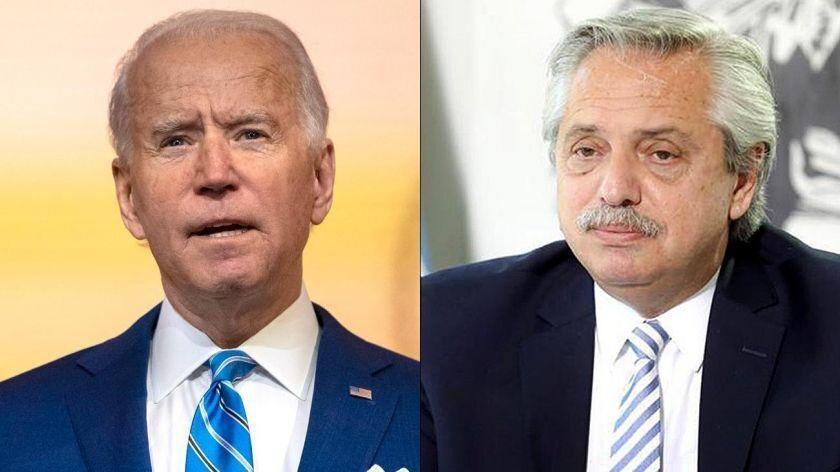 گفتگوی رئیس جمهوری آرژانتین با جو بایدن و قول روابط بهتر