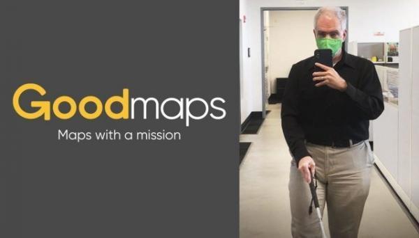 مسیریابی فناورانه در فضاهای داخلی برای نابینایان