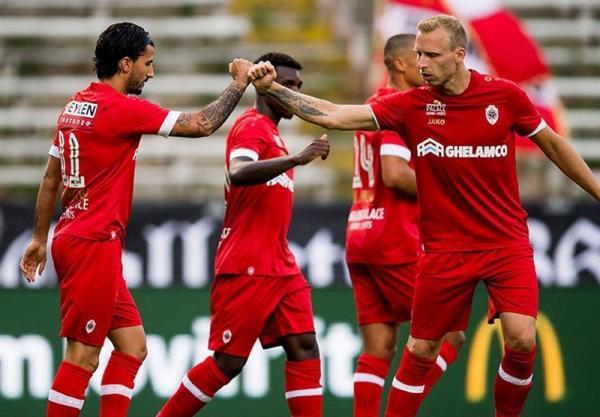 پیروزی آنتورپ برابر تیم قعرنشین، خطای پنالتی بیرانوند