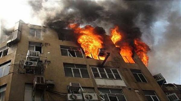 جزییات آتش سوزی در خیابان فرشته