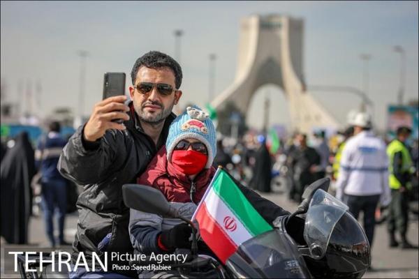 راهپیمایی چهل و دومین سالگرد پیروزی انقلاب اسلامی