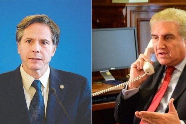 وزرای خارجه پاکستان و آمریکا درباره افغانستان مصاحبه کردند