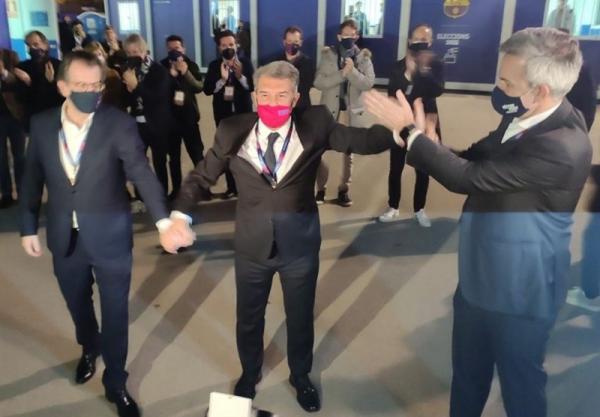 لاپورتا رسماً رئیس باشگاه بارسلونا شد و اولین وعده اش را به طرفداران داد