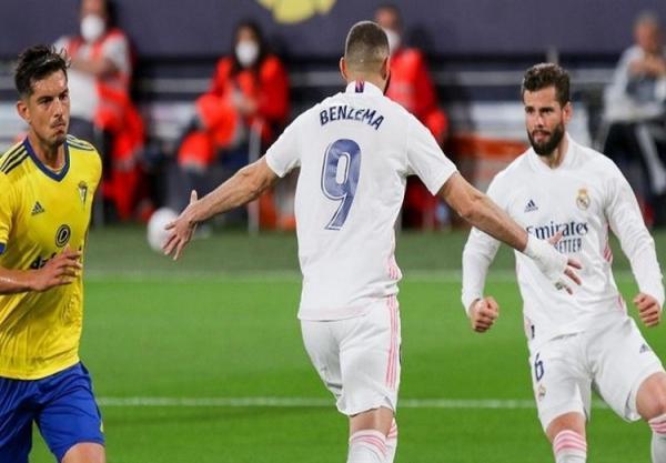 (ویدیو) خلاصه بازی کادیس 0 - 3 رئال مادرید 1 اردیبهشت