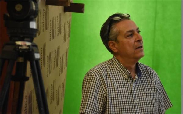 کامشاد کوشان، اولین سینمایی خود را در ایران جلوی دوربین برد