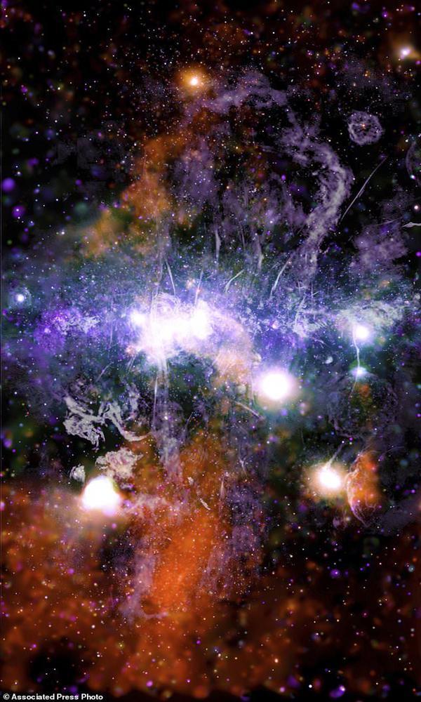 تصویر نو و خیرکننده ای که ناسا منتشر کرد