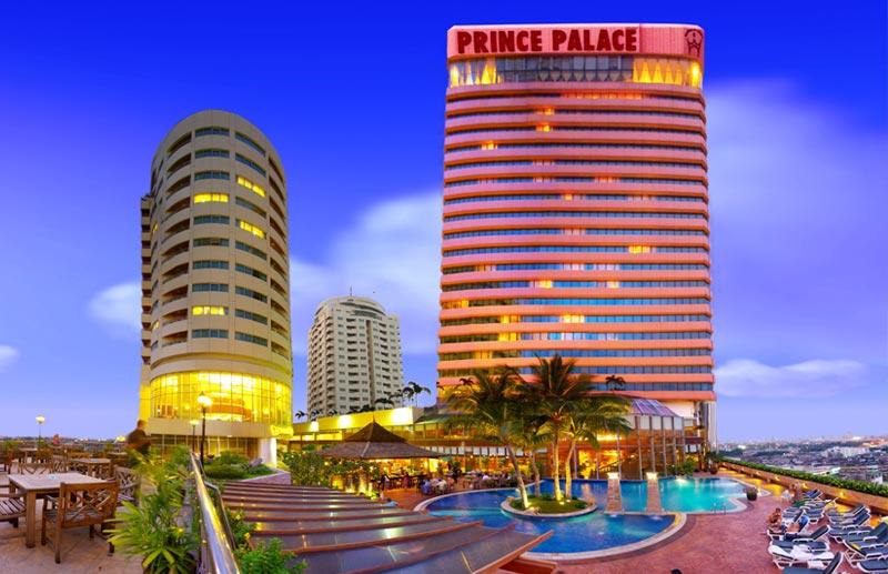 هتل 4 ستاره پرینس پالاس بانکوک