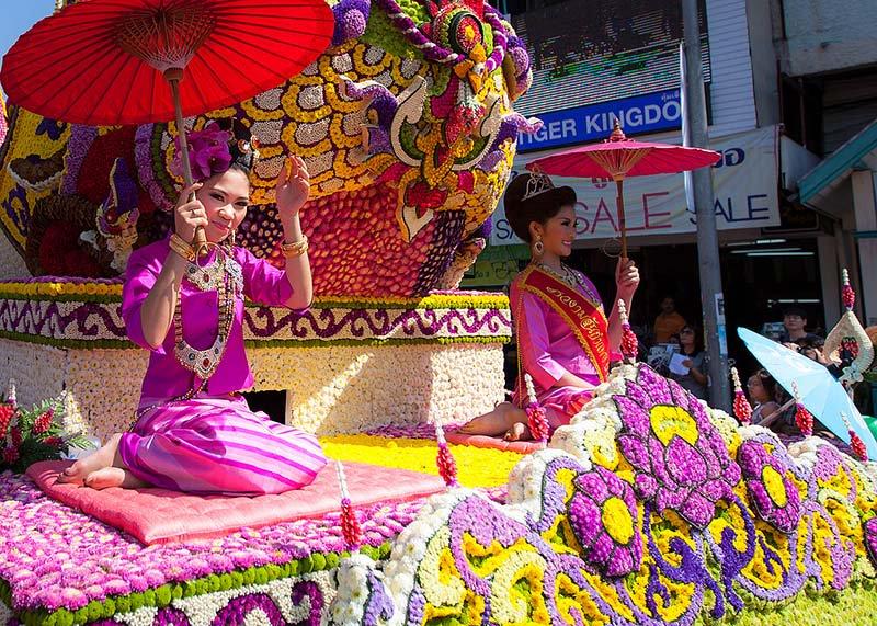 بهترین جشنواره های تایلندی